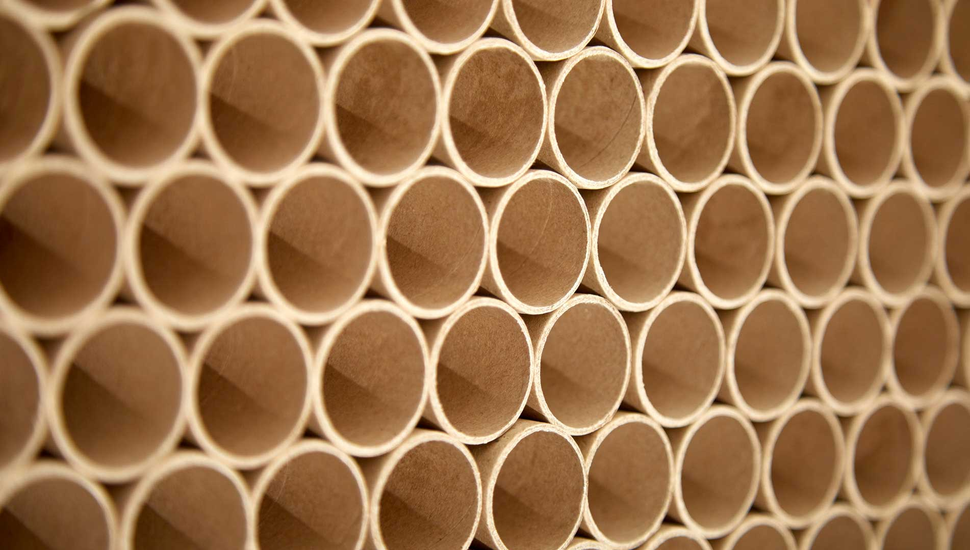 paper spools or paper tubes