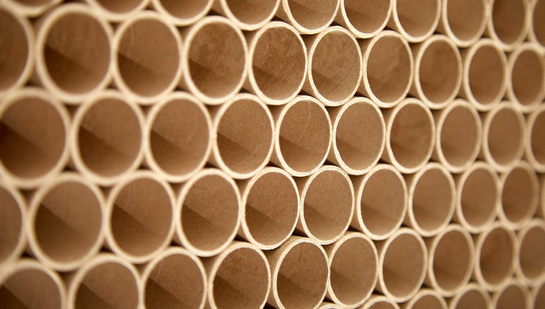 хартиените шпули или хартиени тръби
